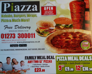 Piazza Woodingdean menu - where to eat in woodingdean