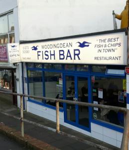 Woodingdean fish bar - fish and chips