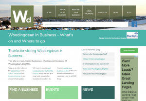 Woodingdean in business screenshot