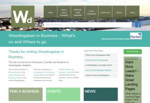 Woodingdean in business screenshot